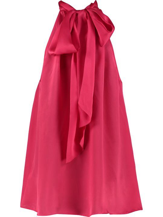 Zimmermann Scarf Collar Silk Blouse
