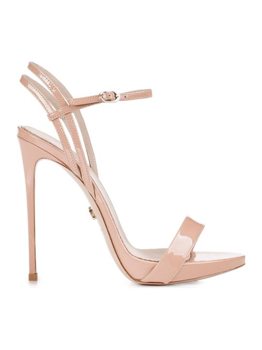 Le Silla Nude Patent Gwen 120 Sandals
