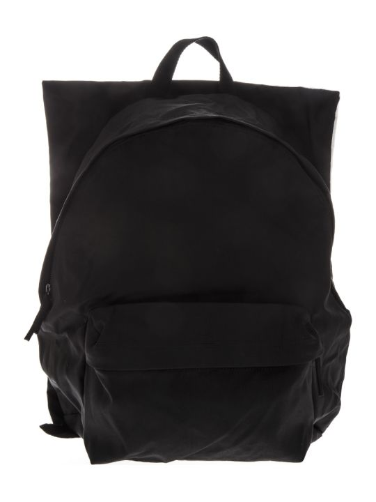 Eastpak Black Poster Backpack By Raf Simons
