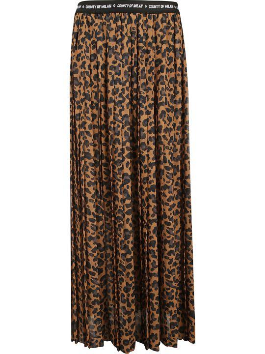 Marcelo Burlon Leopard Skirt