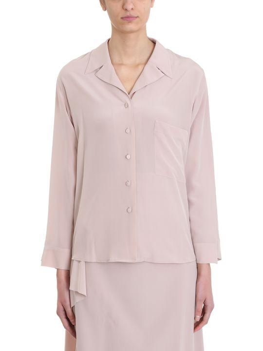 Maison Flaneur Powder Silk Shirt