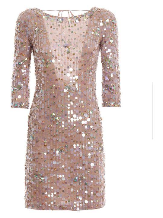 Blumarine Embroidered Short Dress