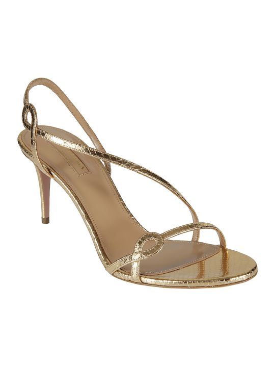 Aquazzura Serpentine Sandals