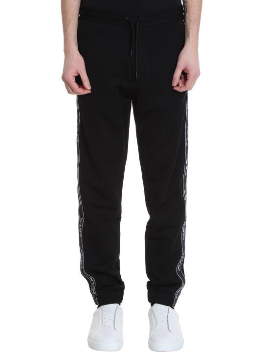 Ermenegildo Zegna Black Cotton Pants