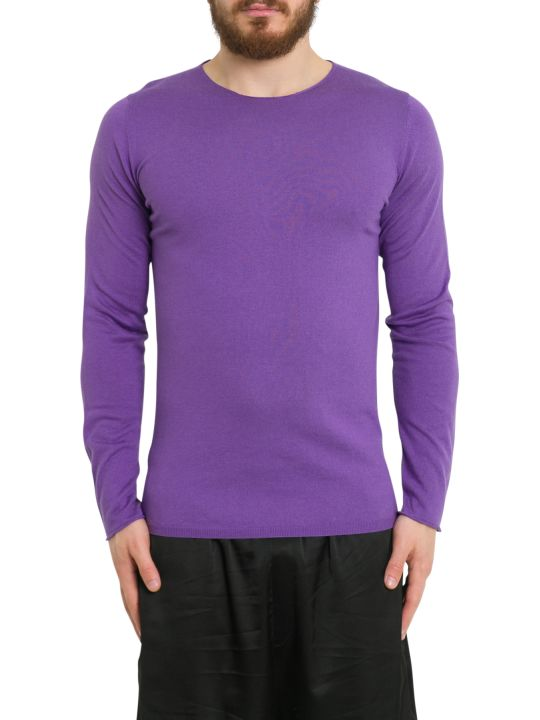 Laneus Silk And Cashmere Long Sleeve Tee