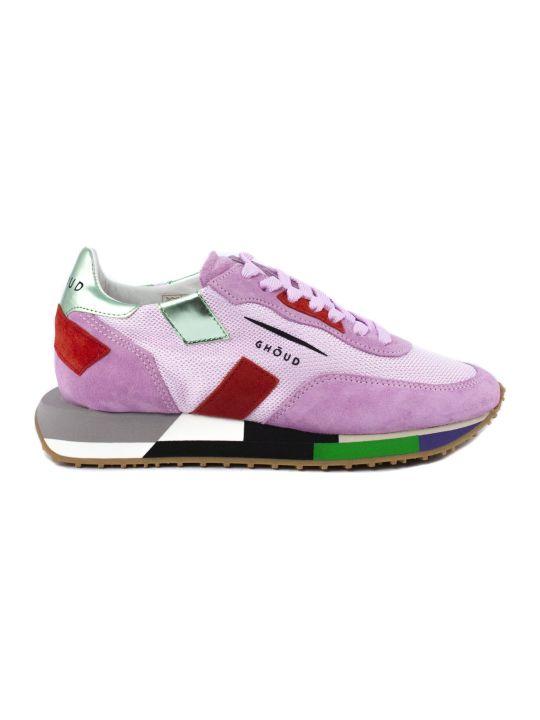 GHOUD Sneaker In Pink Suede