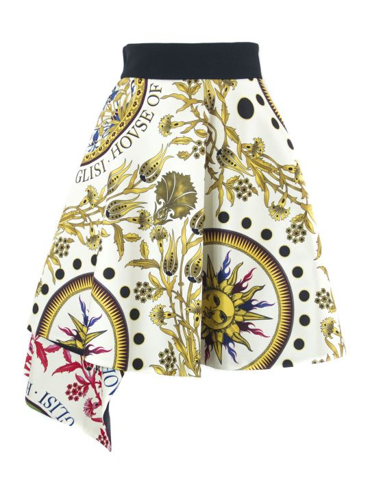 Fausto Puglisi Multicolored Viscose Skirt