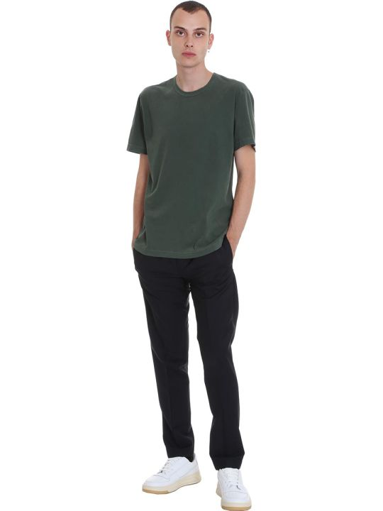 James Perse T-shirt In Green Cotton