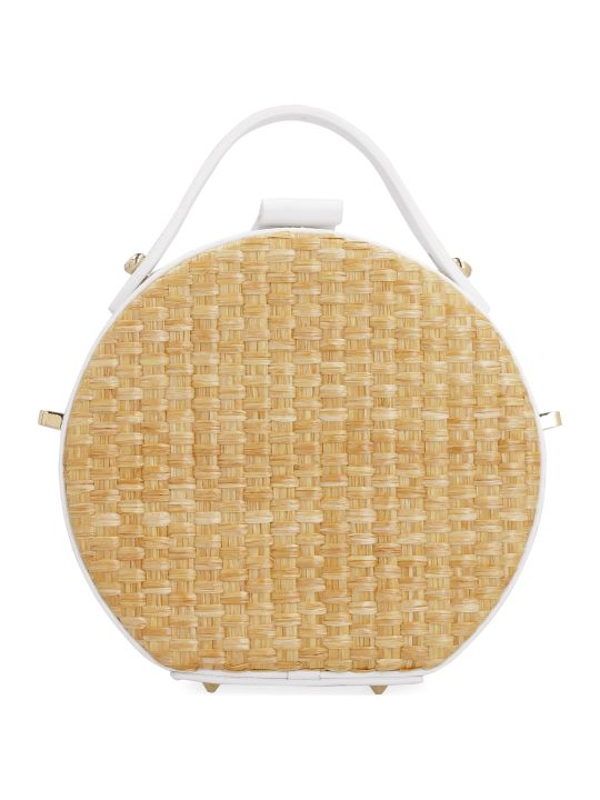 Nico Giani Tunilla Lizard Print Leather Handbag