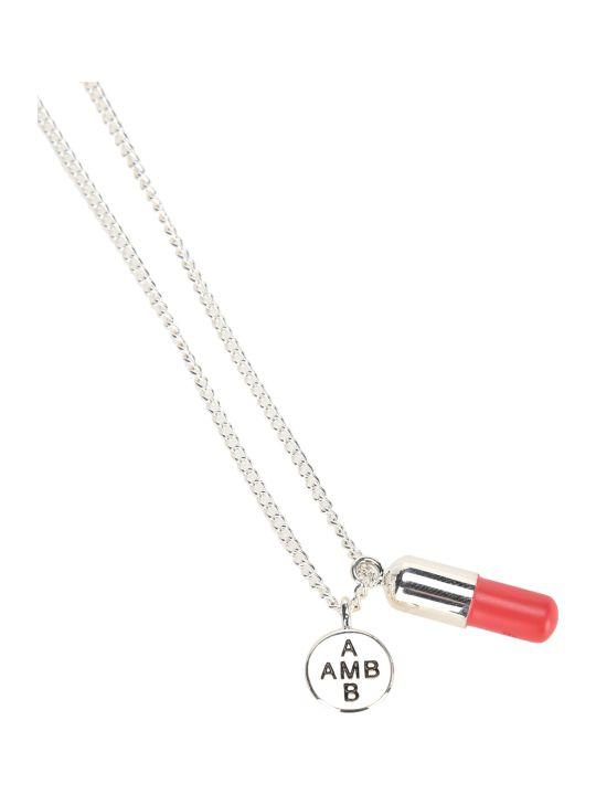 AMBUSH Pill Pendant Necklace
