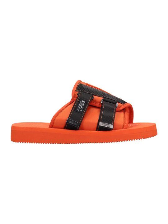 SUICOKE Rubber Orange Sandals