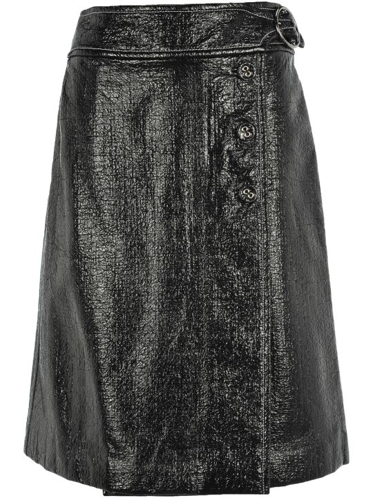 Marni Wrap Style Belted Skirt