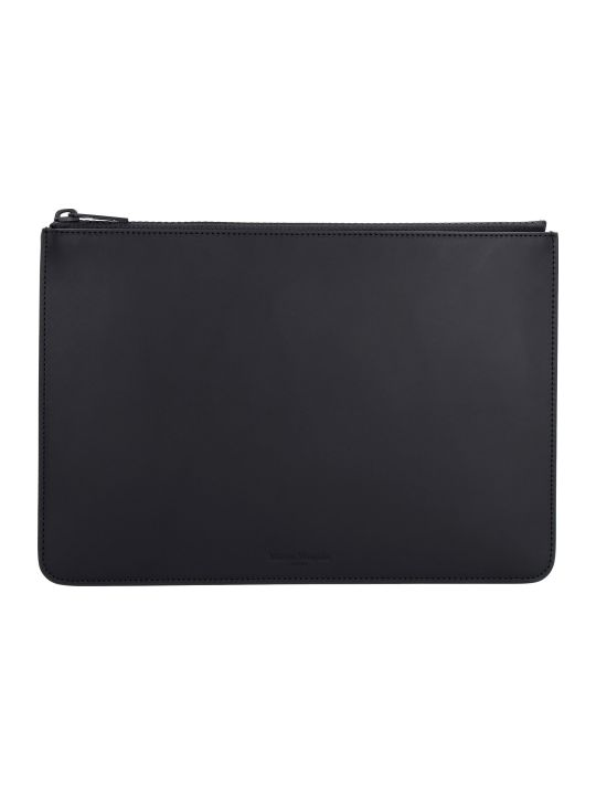 Maison Margiela Mat Leather Flat Pouch