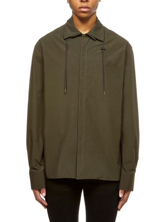 Lanvin Drawstring-collared Shirt
