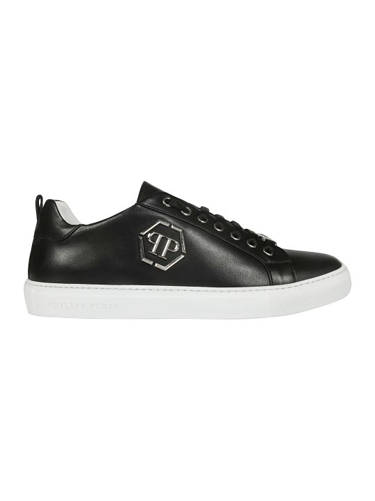 Philipp Plein Logo Plaque Sneakers