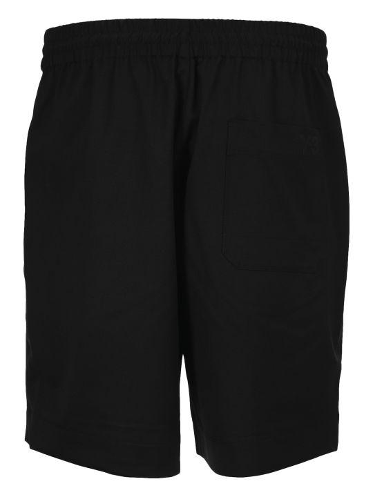 Y-3 Adidas Y3 Straight Track Shorts