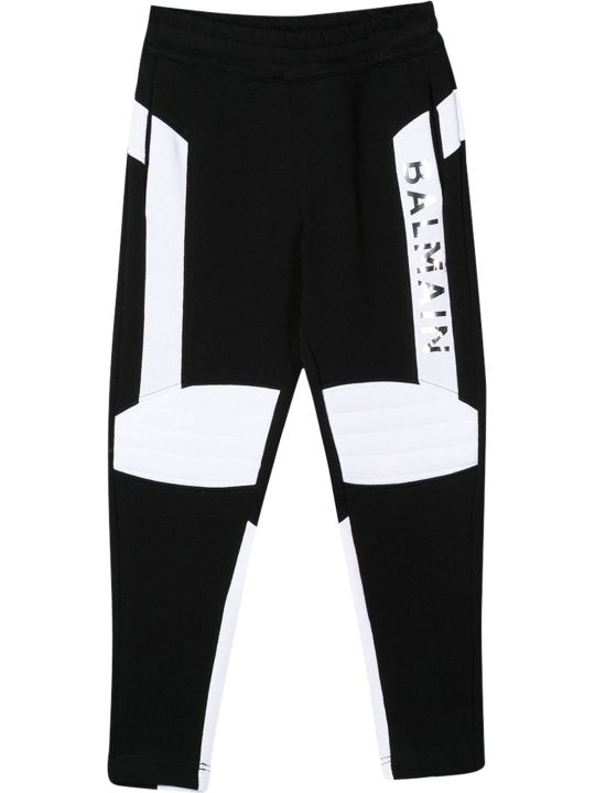 Balmain Kids Printed Sweatpants