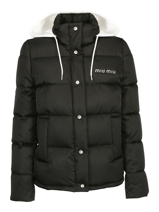 Miu Miu Blouson Down Jacket