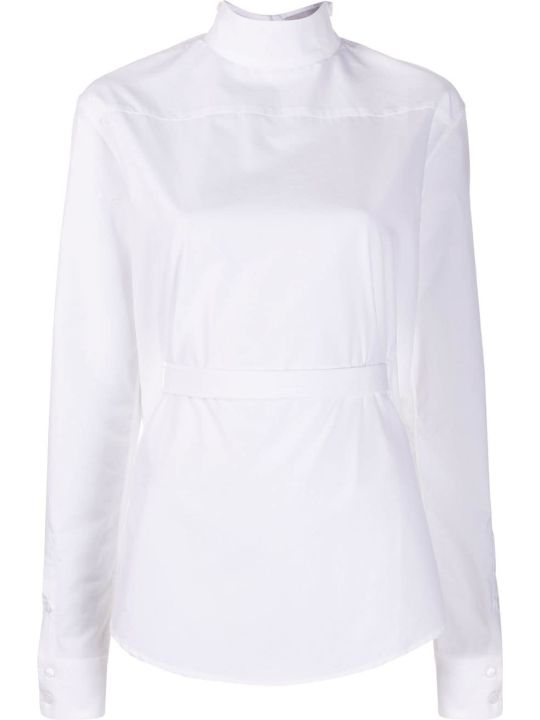 Coperni High-neck Asymmetric Shirt