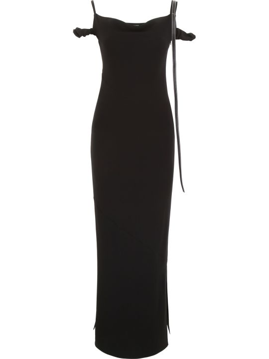 Loewe Dress With Leather Strap