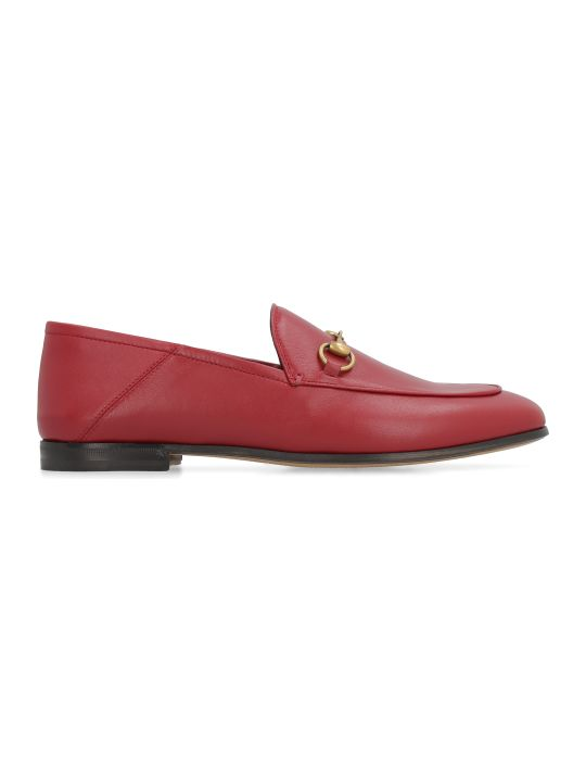 Gucci Leather Loafers With Horsebit