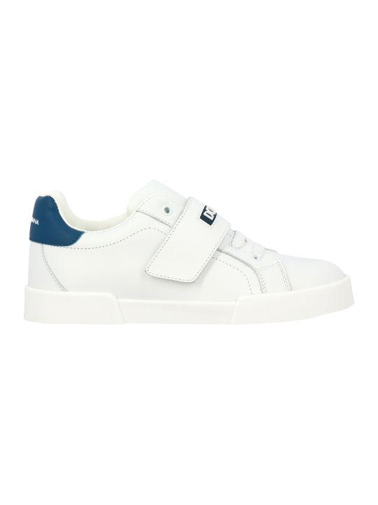 Dolce & Gabbana Portofino Ligh Sneakers With Logo