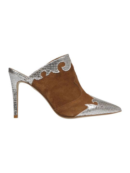 Paris Texas Embellished Stiletto Mules