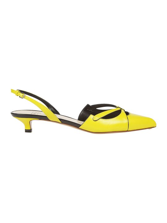 Francesco Russo Sling Back Pump