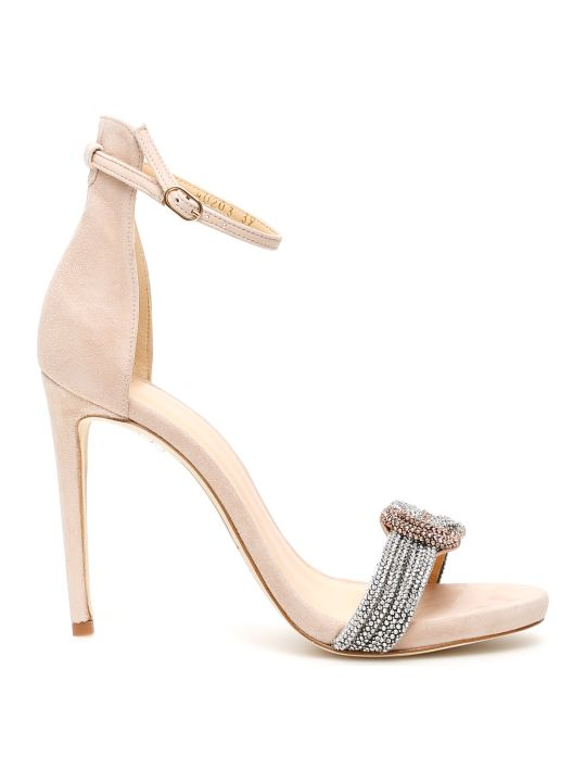 Alexandre Birman Bicolor Crystal Sizzle Sandals