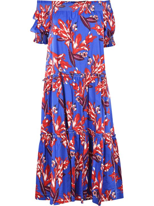 Parosh Floral Print Dress
