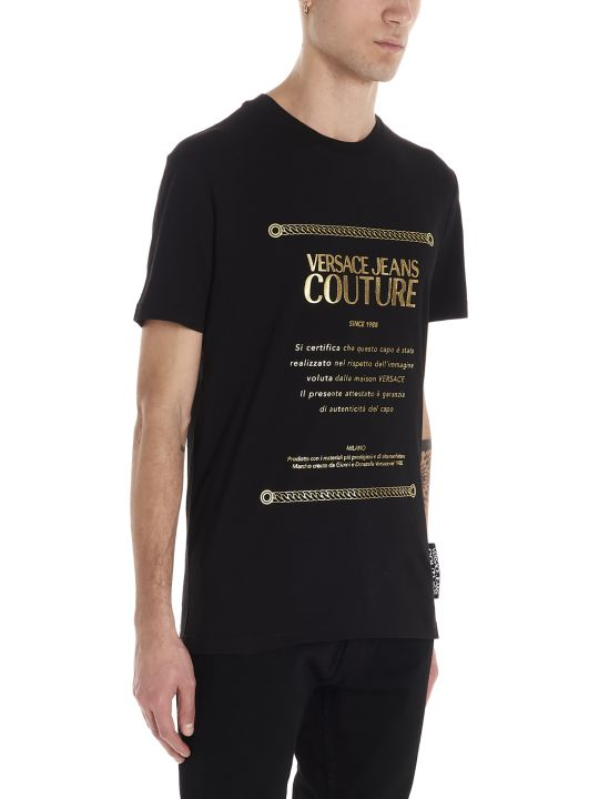 Versace Jeans Couture 'warranty' T-shirt