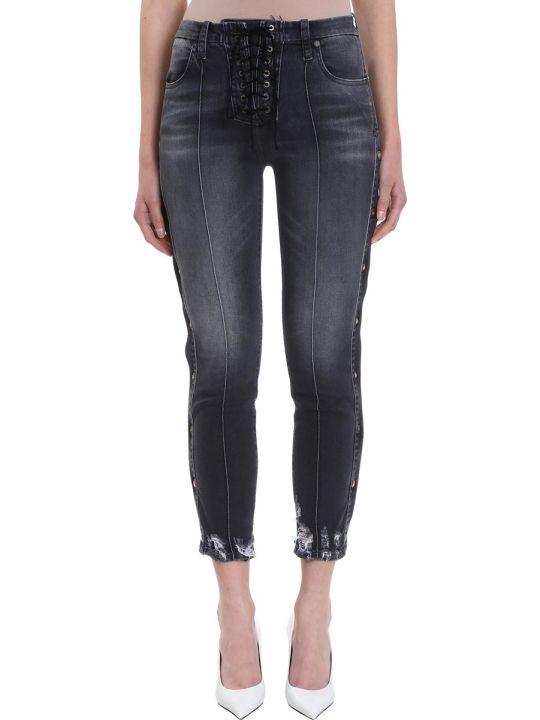 Ben Taverniti Unravel Project Lace Up  Jeans