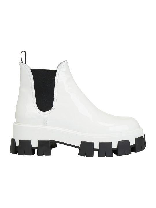 Prada Patent Boots