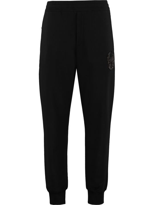Alexander McQueen Stretch Cotton Track-pants