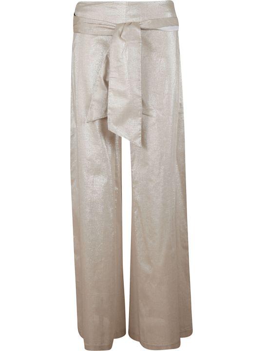 D.Exterior Tie Detail Trousers