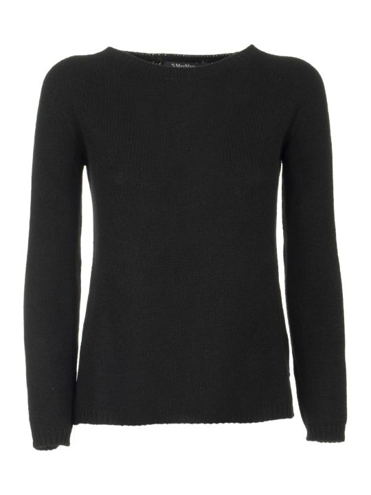 Max Mara The Cube Cashmere Jumper Giorgio Black Knitwear