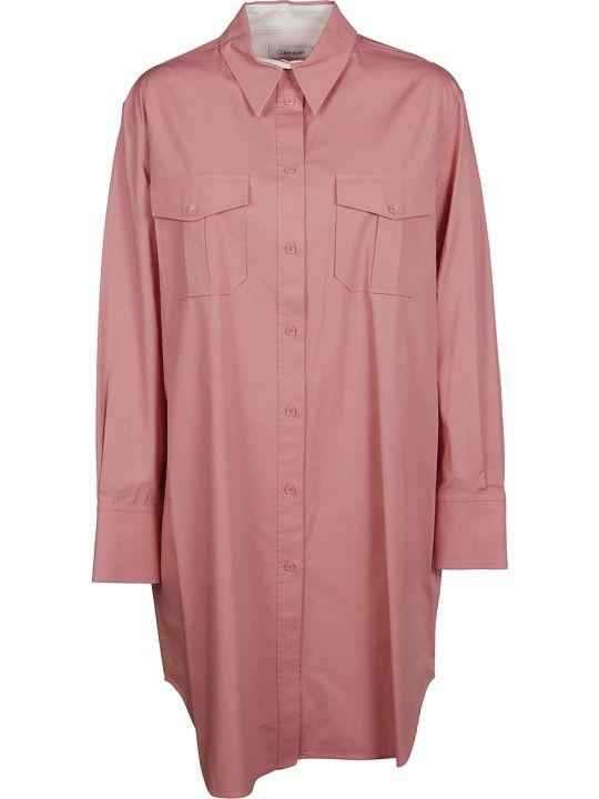 Calvin Klein Poplin Shirt Dress