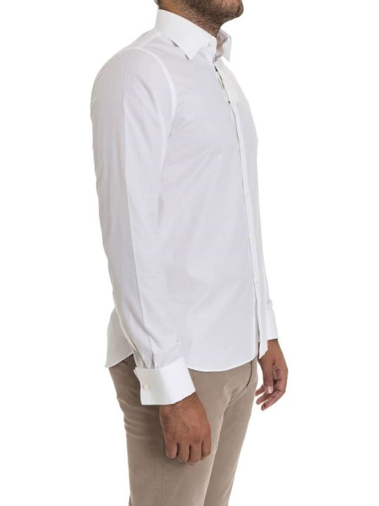 G. Inglese G Inglese Cotton Shirt Double Cuff