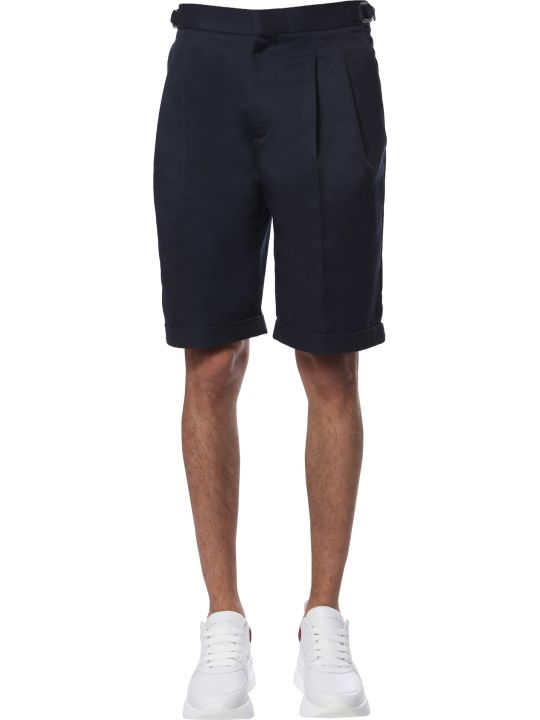 Alexander McQueen Regular Fit Bermuda