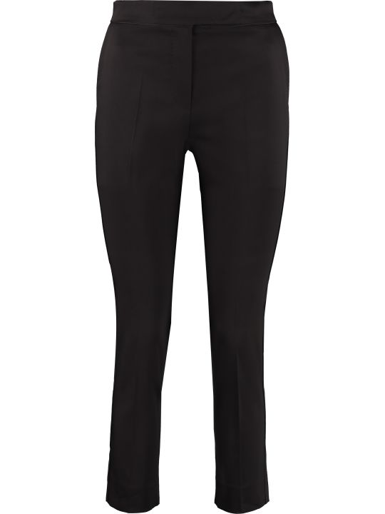 Max Mara Luana Stretch Cotton Trousers