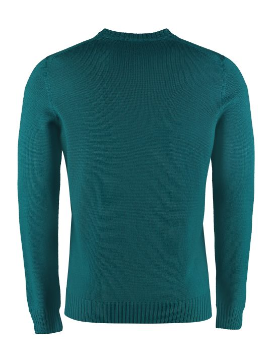 Drumohr Merino Wool Crew-neck Sweater