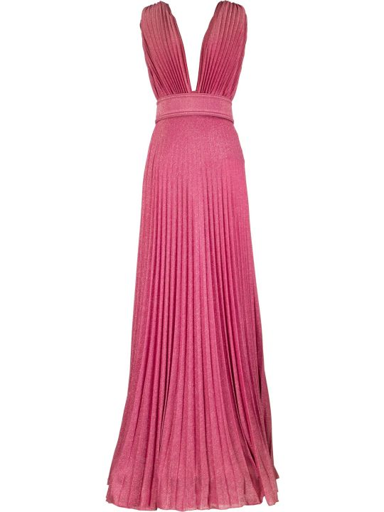 Elisabetta Franchi Celyn B. Long Dress With Side Slit