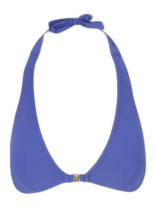 SEMICOUTURE Halterneck Bikini Top