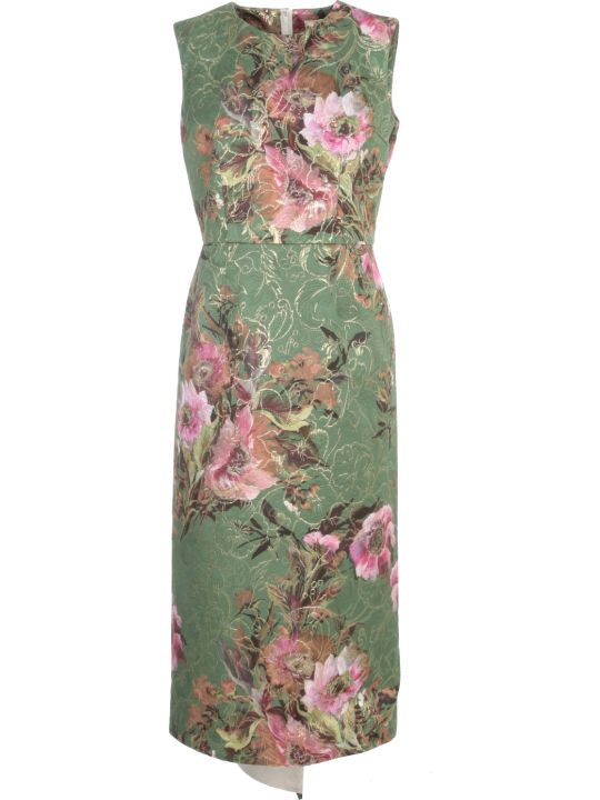 Comme des Garçons Modal Cotton Printed Flower Dress