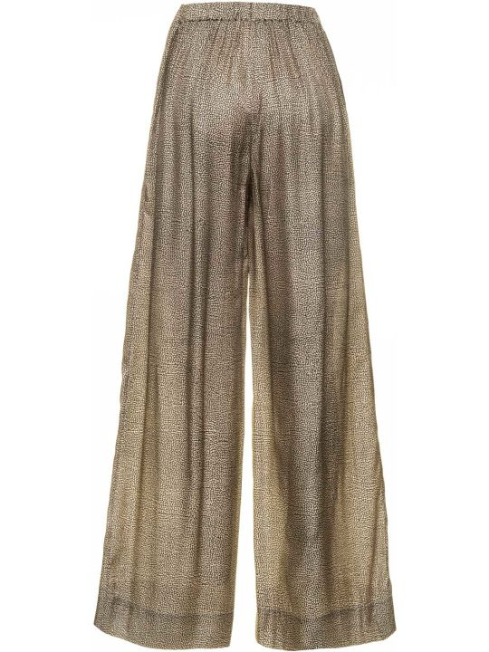 Borbonese Borbonese Wide Pants With Op Pattern