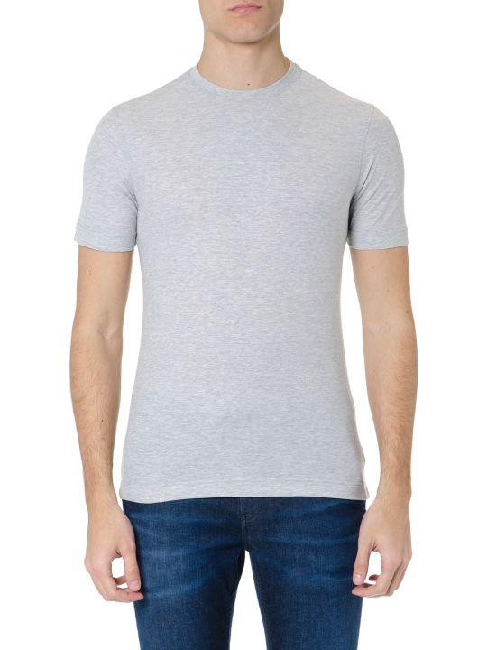 Zanone Light Grey Cotton T-shirt