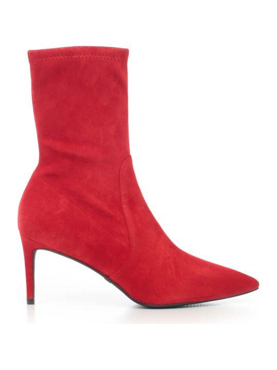 Stuart Weitzman Ankle Boots 75 Heel Suede
