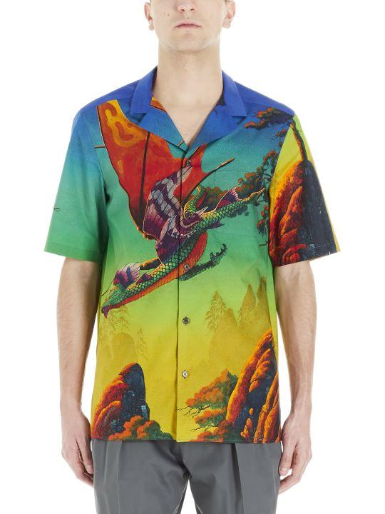 Valentino 'dragon At Dawn' Shirt