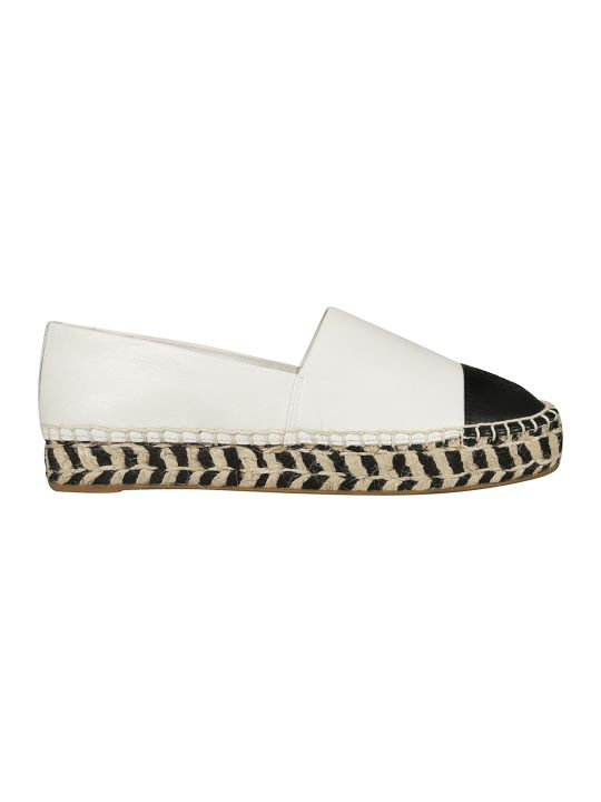 Tory Burch Logo Stamp Espadrillas