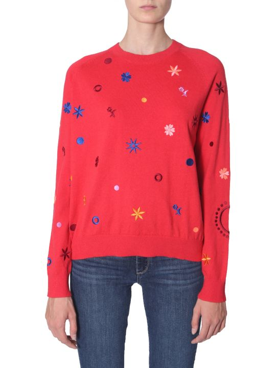 PS by Paul Smith Crew Neck Knit Sweater